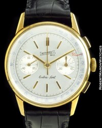 EBERHARD & CO EXTRA FORT CHRONOGRAPH 18K :: All Watches