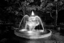 City Fountain - Cadillac, MI - Robert Mohr Photography