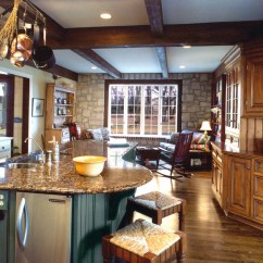 Decorating Kitchens Kitchen Base Cabinets Rural Country Homestead | Robert Montgomery Homes Luxury ...