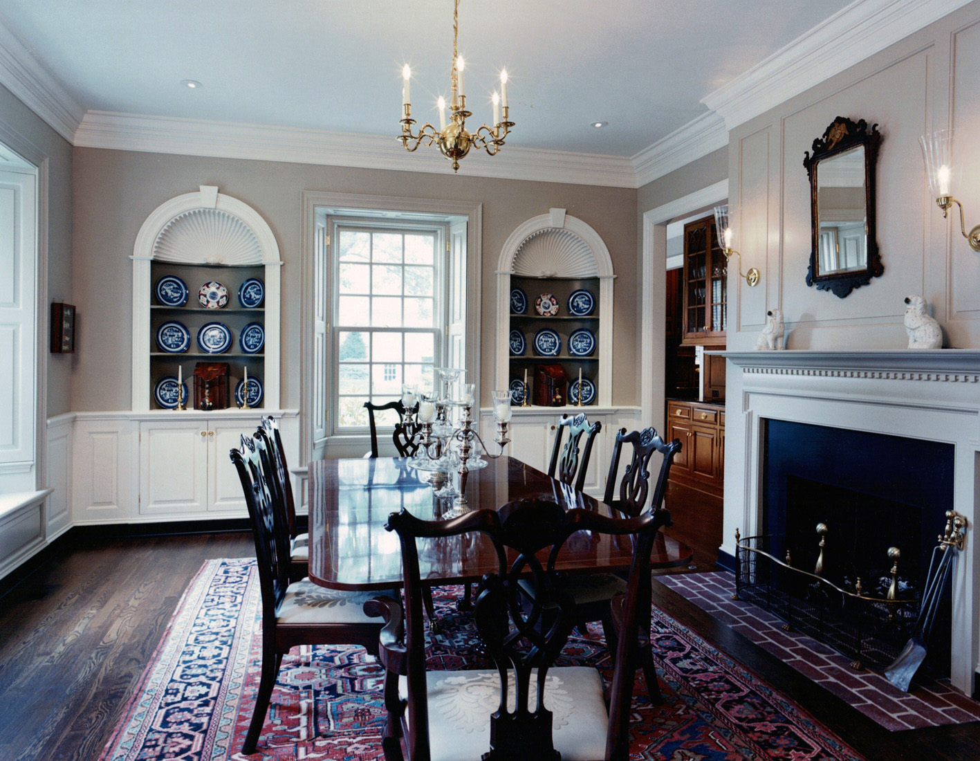 Colonial Williamsburg Dining Rooms