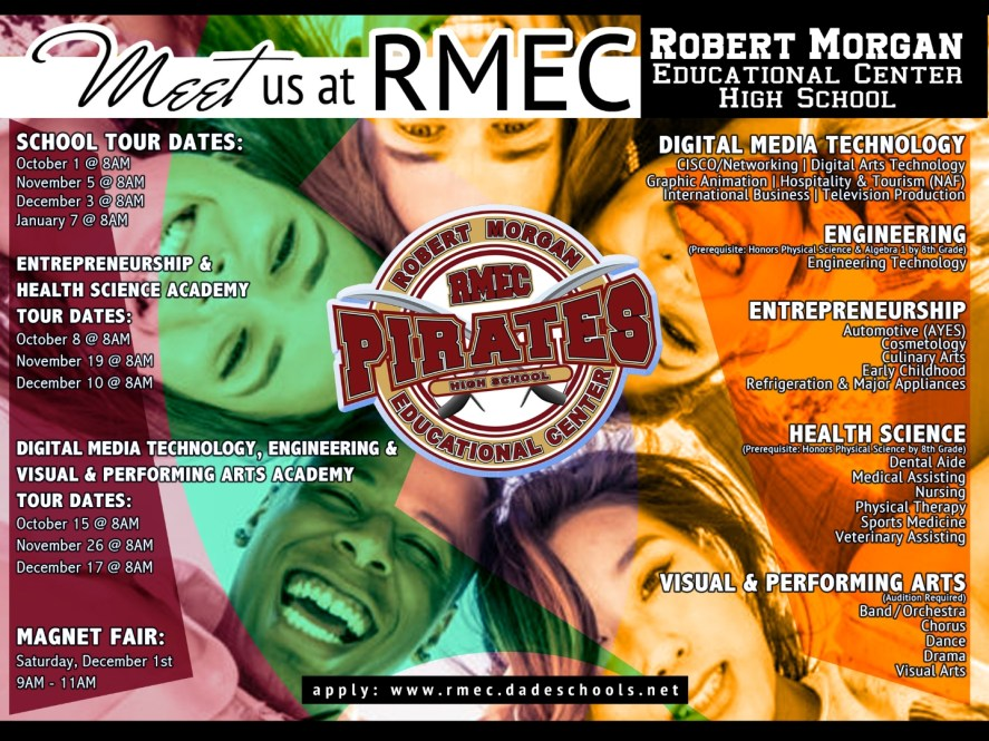 Meet us at RMEC School Tour Dates
