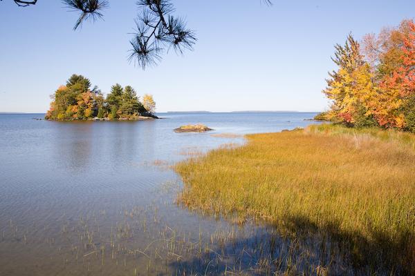 Lake Nipissing and Island