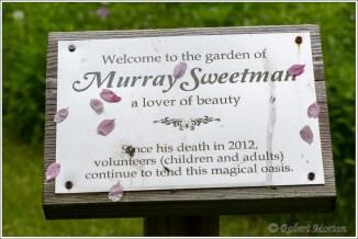 Murray Sweetman Plaque