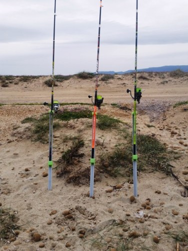 COME ORGANIZZARE LA POSTAZIONE DI PESCA IN UNA GARA le canne di riserva