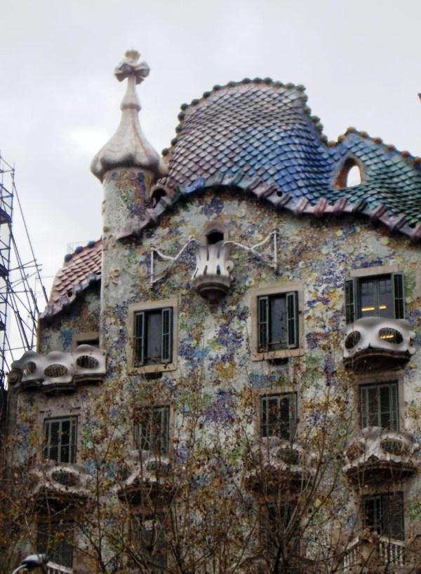 Building by Gaudi Barcelona