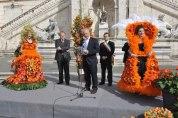 Roma, Festa floreale in onore del nuovo Re d'Olanda (3)