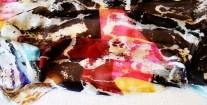 Roberto Alborghetti - Laceractions, Silk scarf, Limited edition (5)