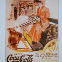 THE SPIRIT OF THE TIMES: A SET OF SIX COCA-COLA VINTAGE ART POSTERS MADE BY FAMOUS ILLUSTRATORS