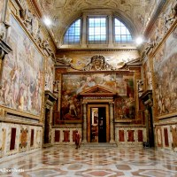 A GREAT HONOUR FOR ME! MY PHOTO ABOUT SALA REGIA (VATICAN, ROME) CHOSEN FOR THE PRESS RELEASE OF INTERNATIONAL CHARLEMAGNE PRIZE AWARDED BY POPE FRANCIS