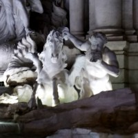 ROME: THE NIGHT, THE LIGHTS AND THE MAGIC OF FONTANA DI TREVI (AFTER RESTORATION)