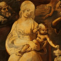 FLORENCE: LEONARDO DA VINCI'S ADORATION OF THE MAGI HAS RETURNED TO UFFIZI GALLERY AFTER RESTORATION