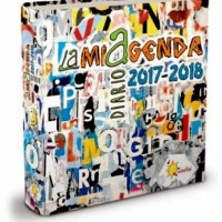 "COLOR YOUR DAYS... MY ARTWORKS FOR ""LAMIAGENDA '17/'18"": VISUAL ART FOR A NEW SCHOOL DIARY"