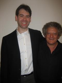 With Irvine Arditti.