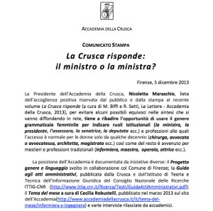 crusca_ministra