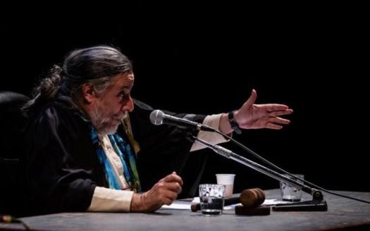 Claudio Morganti in Il caso W. (ph. Ilaria Costanzo) - Woyzeck