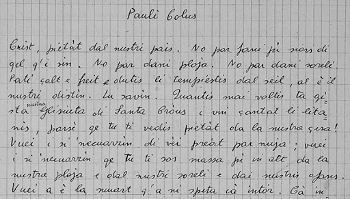 I-Turcs-tal-Friul-pagina manoscritto