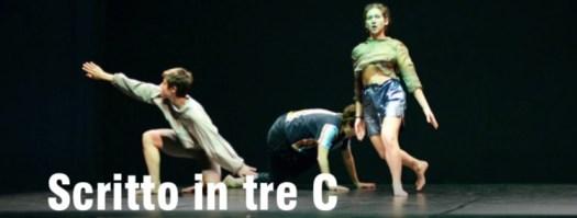Anghiari Dance Hub 2020 - Scritto in tre C