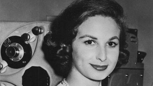 Nicoletta Orsomando negli anni '50