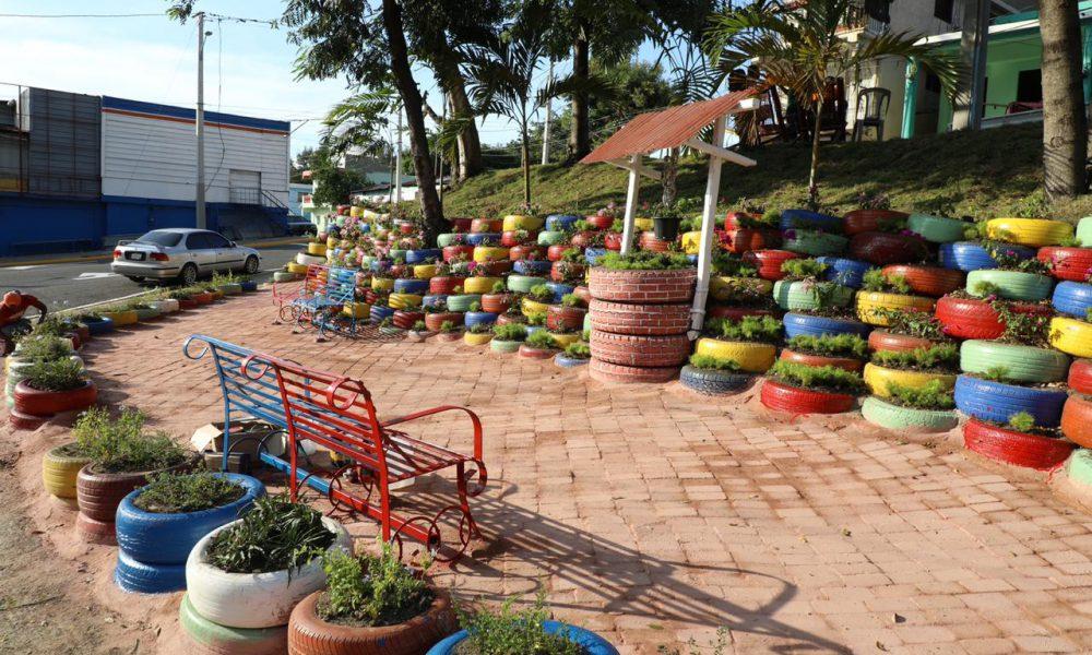 El Jardín de Las Gomas en Nibaje parte de la acupuntura urbana ejecuta alcalde Abel Martínez