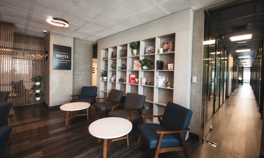 Multinacionales abren sus oficinas en THRIVE en Blue Mall