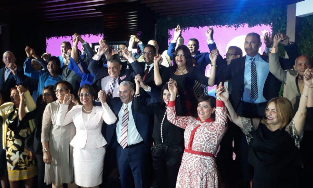 (Video): 60 diputados estampan su apoyo a Gonzalo Castillo