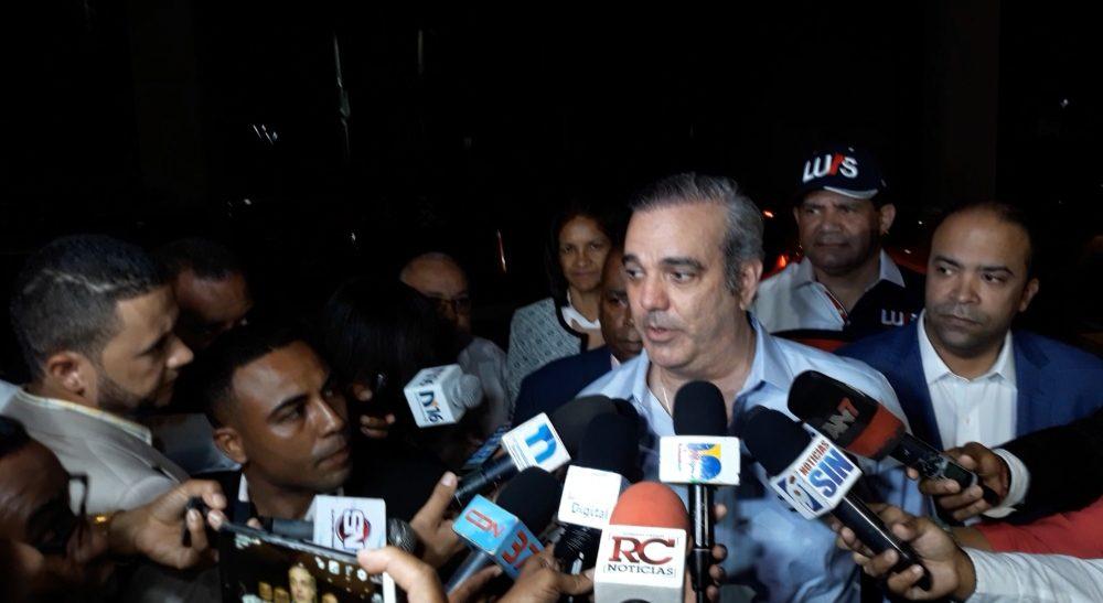 (Video): Luis Abinader respalda advertencia de la JCE a precandidatos sobre publicidad