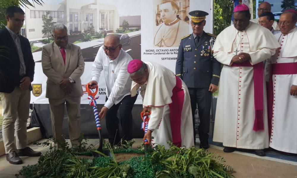 MOPC inicia construcción de la Casa Sacerdotal