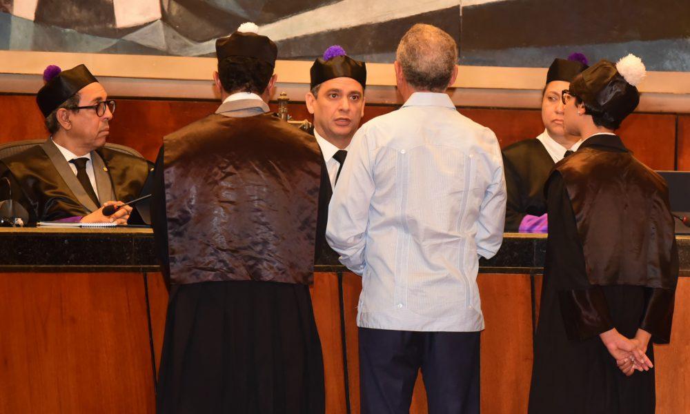 Defensa Angel Rondón Rijo inicia presentación de excepciones e incidentes en audiencia caso Odebrecht