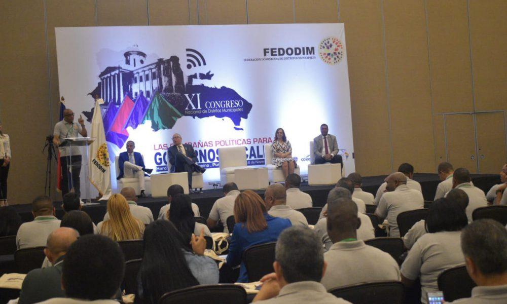 Más de 100 alcaldes participan en XI Congreso de Fedodim en Punta Cana