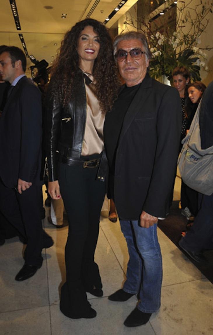 Afef e Roberto Cavalli 2