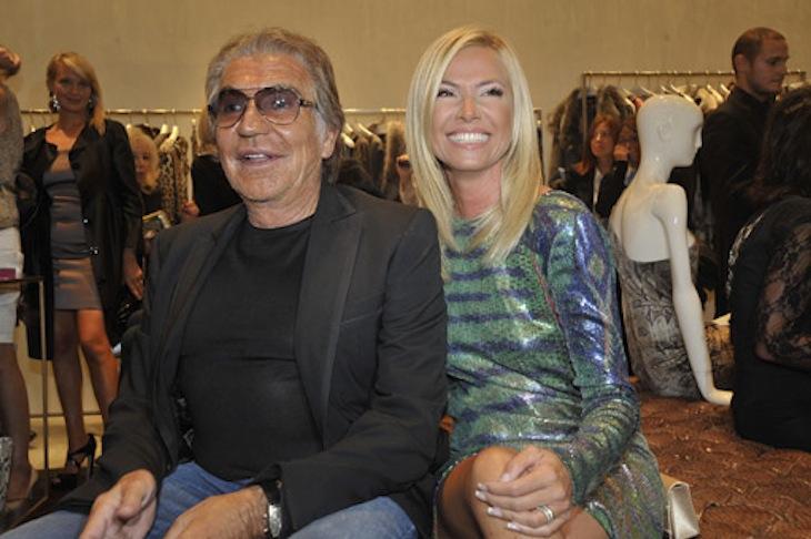 Federica Panicucci in RC e Roberto Cavalli