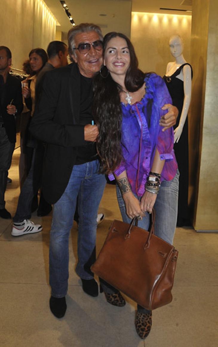 Roberto Cavalli e Benedetta Mazzini in RC
