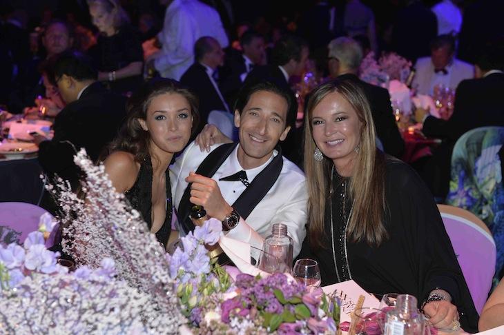 Adrien Brody,Lara Lieto and Eva Cavalli