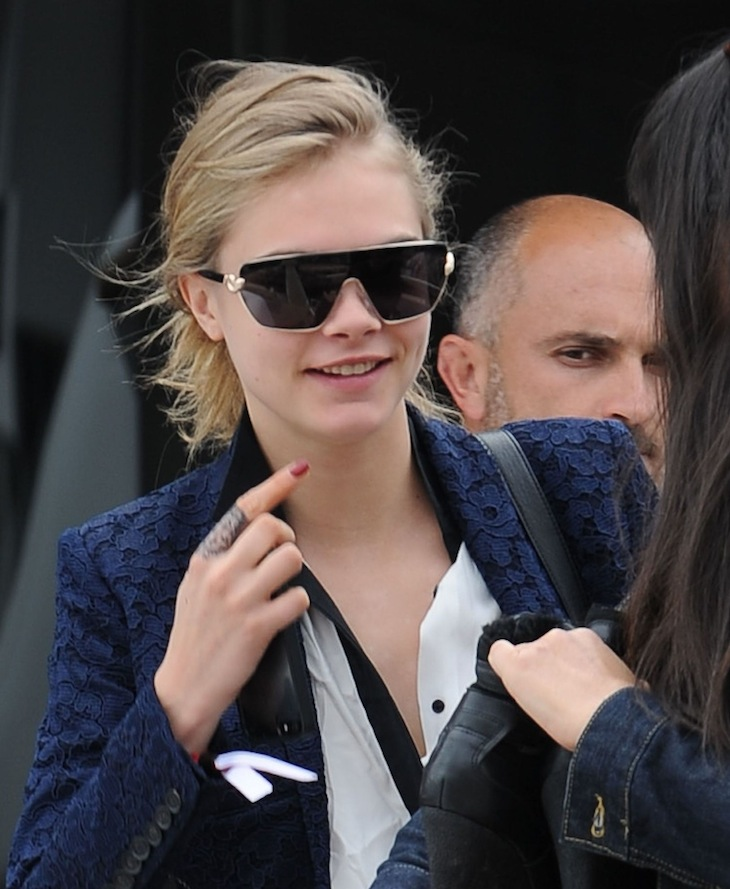 Cara Delevingne in Roberto Cavalli Eyewear