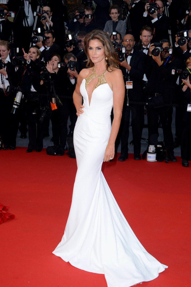 Cindy-Crawford in Roberto Cavalli