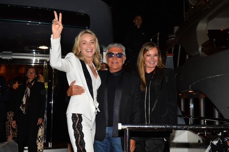 Sharon Stone Roberto Cavalli Eva Cavalli