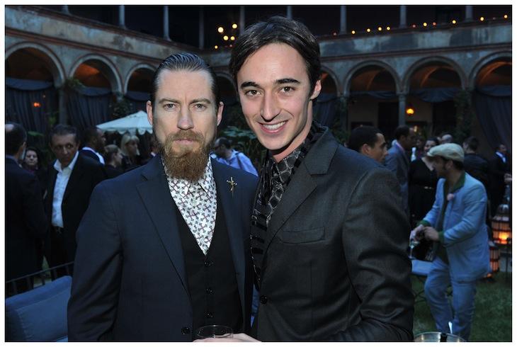 Daniele Cavalli and Justin O'Shea