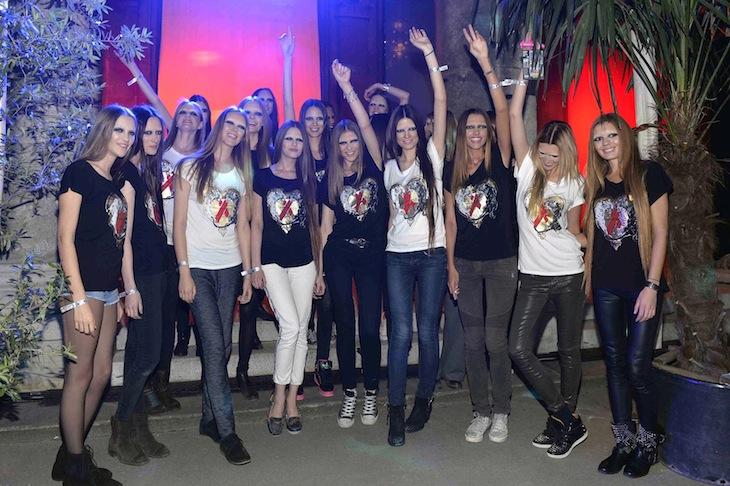 Life Ball 2013 Roberto Cavalli t-shirts