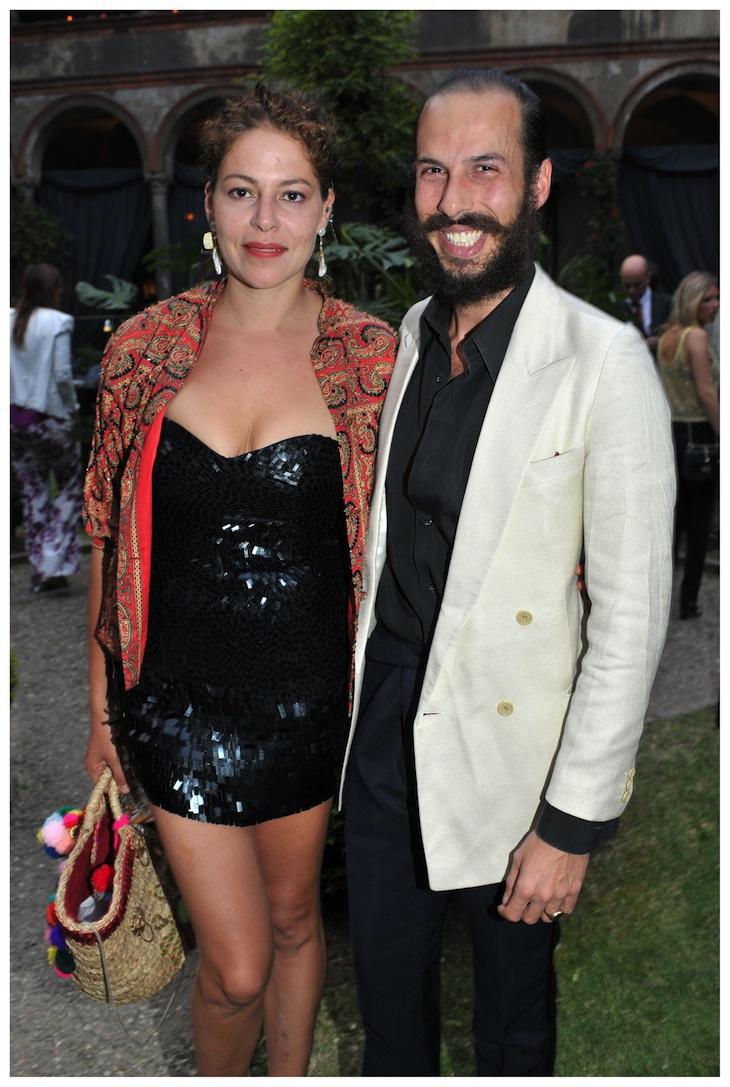 Lola Schnabel and Alex Postiglione