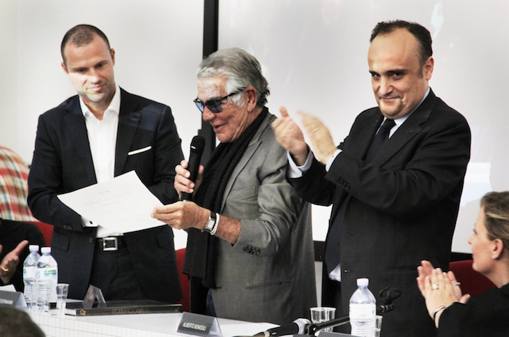 Roberto Cavalli at the Domus Academy
