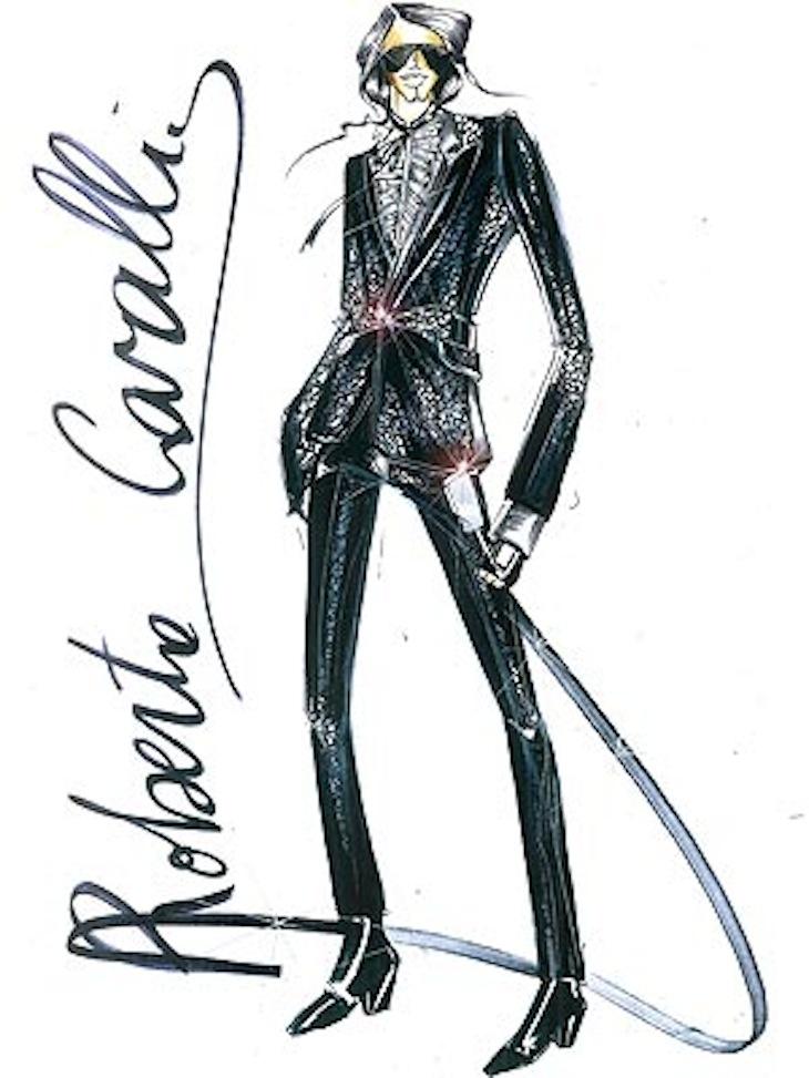 Roberto Cavalli for Michael Jackson