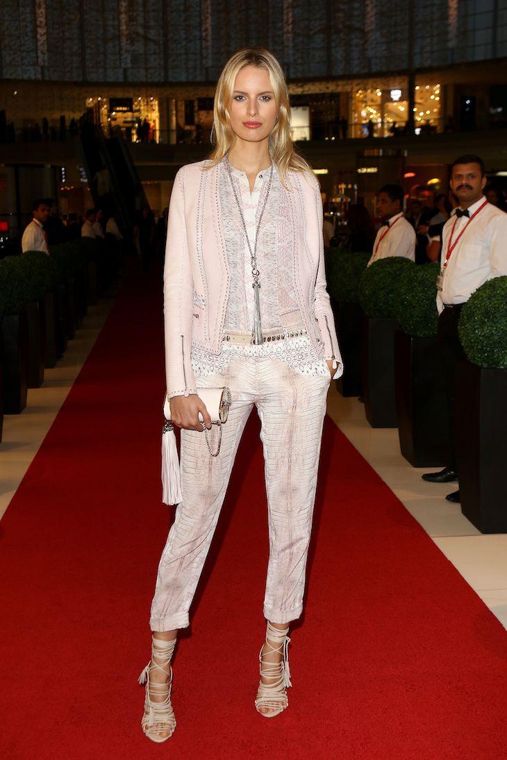 Karolin Kurkova in Roberto-Cavalli @ Vogue Fashion Dubai Experience