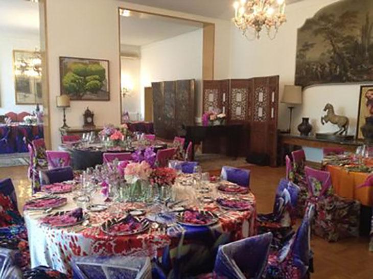 Gala Dinner at the Italian Embassy