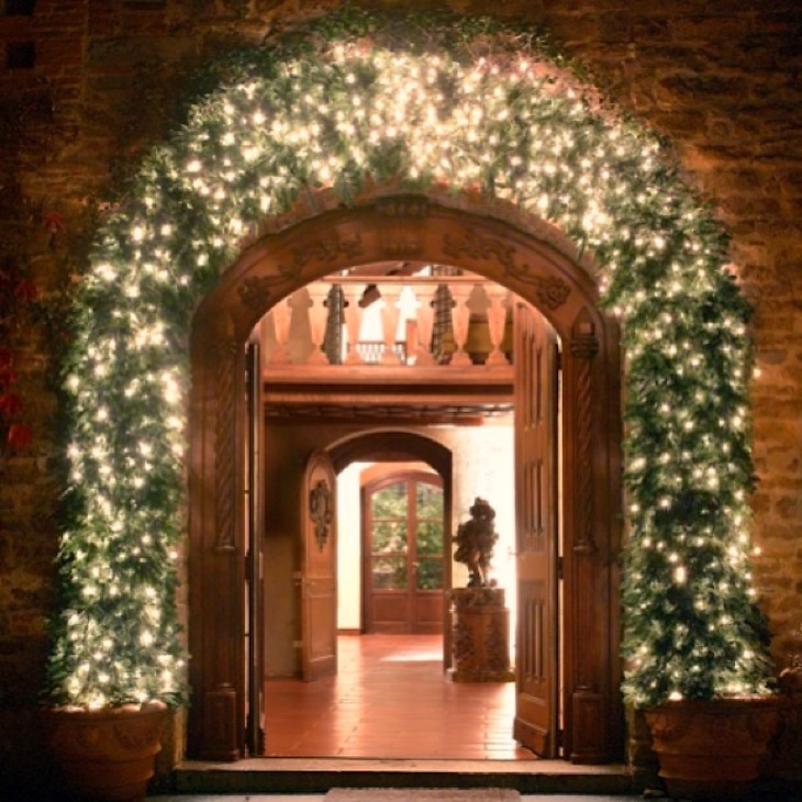 The__decoration_of_Christmas_in_the_entrance_of_my_villa_in__florence