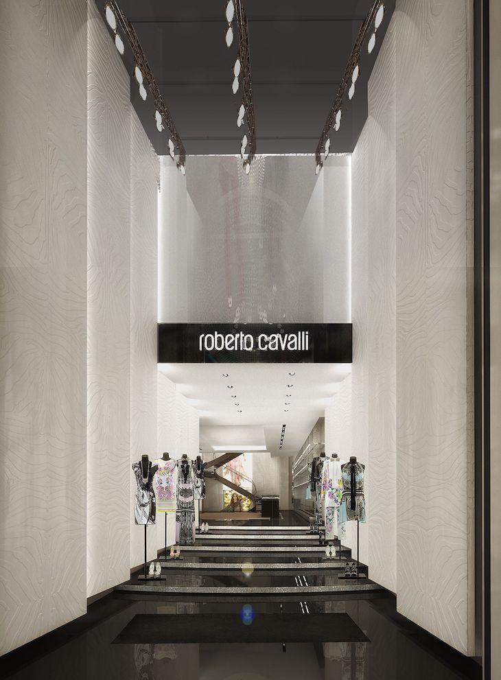 Roberto Cavalli Milan Entrance