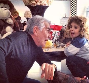 Roberto Cavalli with Gabriele