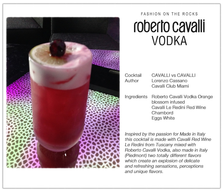 CAVALLI Vs CAVALLI Cocktail