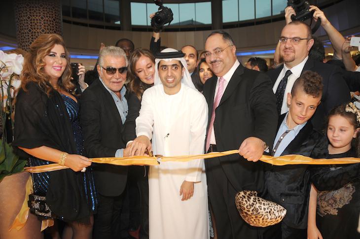 Roberto Cavalli,Eva Cavalli, Sheikh Mohammed bin Maktoum Al-Maktoum@Vogue Fashion Dubai Experience(1)