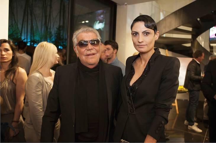 Roberto Cavalli and Helen Nonini