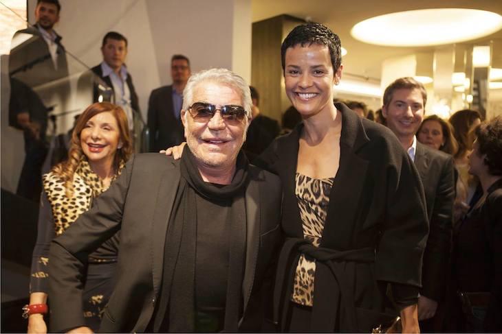 Roberto Cavalli and Nadege
